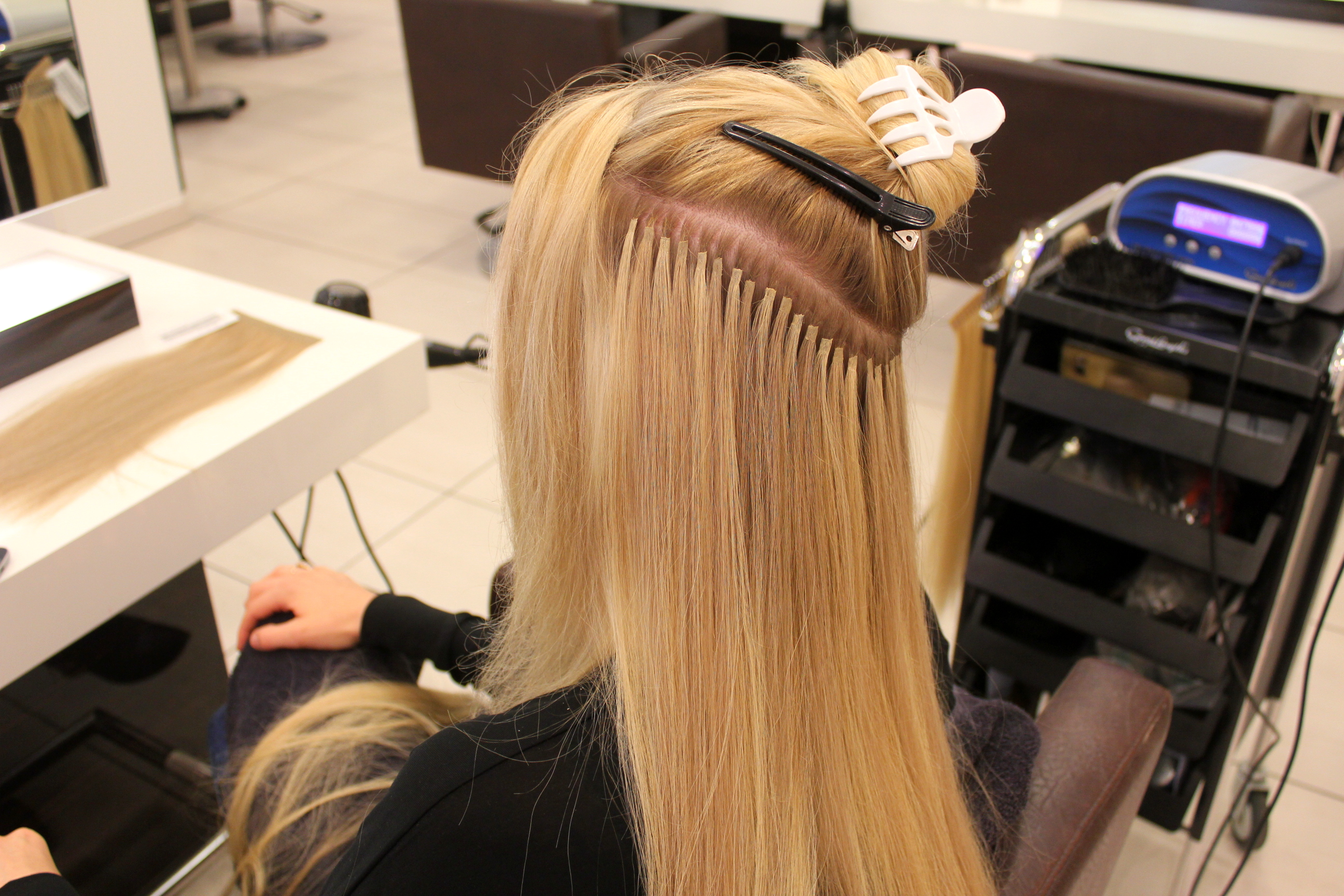 Welche extensions fur feines haar